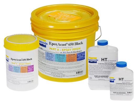 EpoxAcast® 650 BLACK + HT Hardener