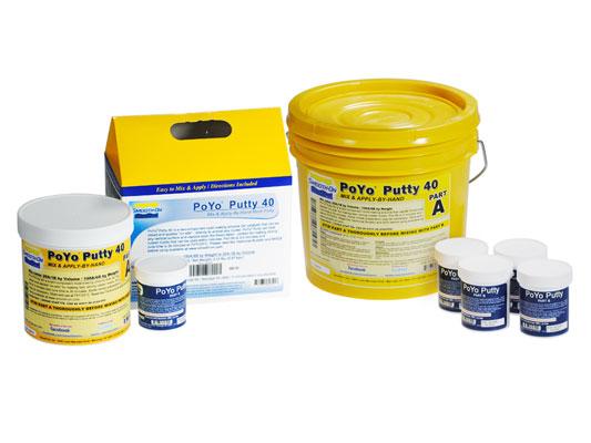 PoYo™ 有机硅油灰