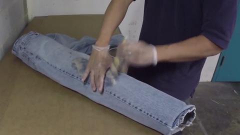 如何制作可以穿戴的仿腿部伤口效果