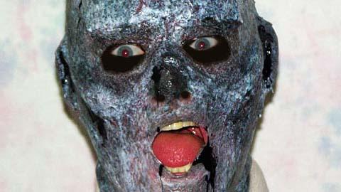 制作自己的硅胶万圣节面具