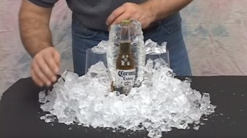 使用Encapso K制作真实的冰展品