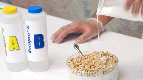 使用Encapso K制作谷物食品道具