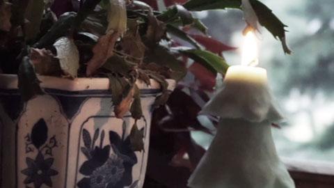 模具制作-圣诞树蜡烛