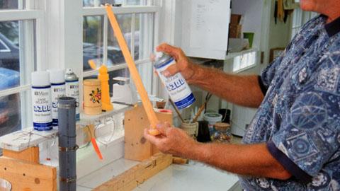 Beeskep II用Smooth-On橡胶生产蜡烛