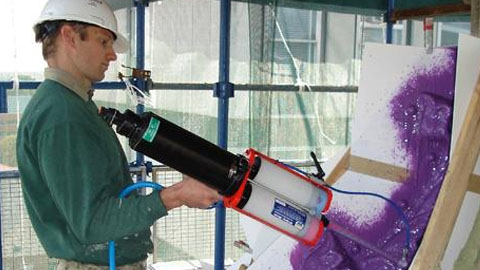 使用EZ-Spray系统修复石制品