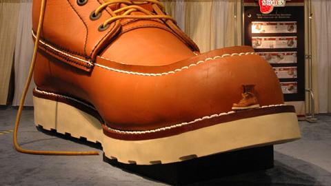 红翼巨人工作靴底:尺码 638D