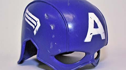 如何使用Rebound 25 制作美国队长角色扮演头盔模具