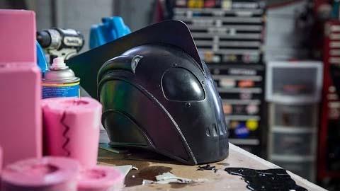 如何空壳浇注道具头盔